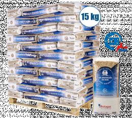 Palette de granulés de bois 66 sacs de 15kg
